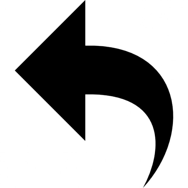 backward arrow